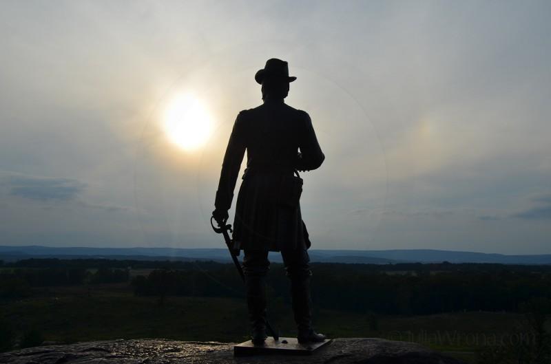 Sunset Gettysburg, PA
