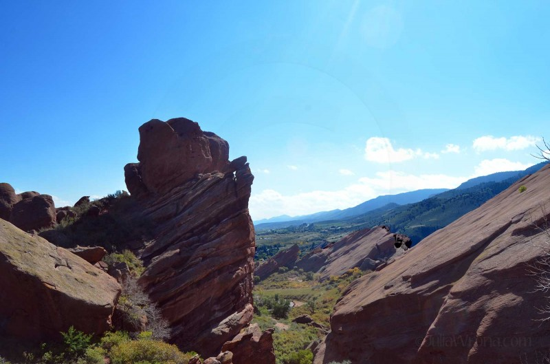 Red Rocks Park in Golden, Colorado