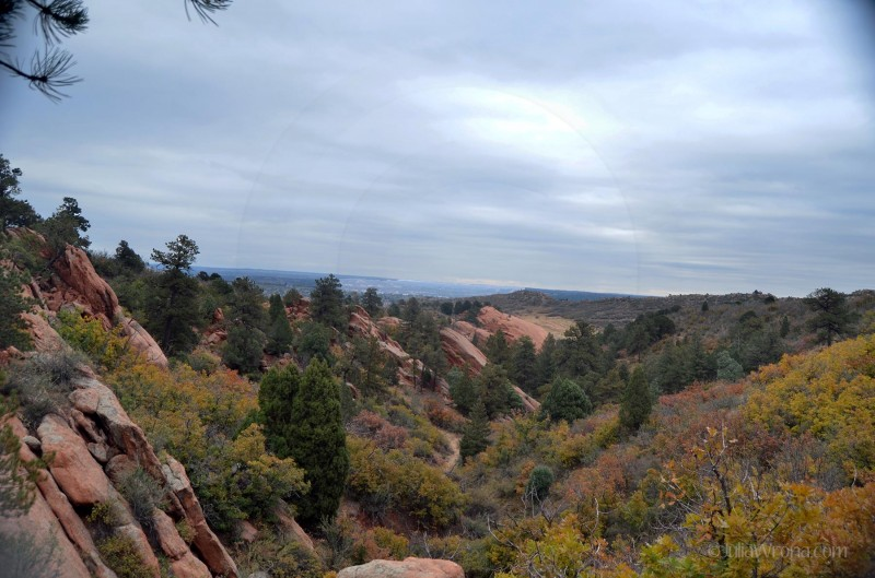Red Rocks Canyon Open Space in Colorado Springs, Colorado