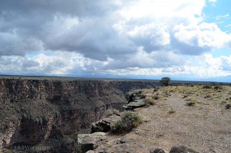 Rio Grande Gorge near Taos, New Mexico