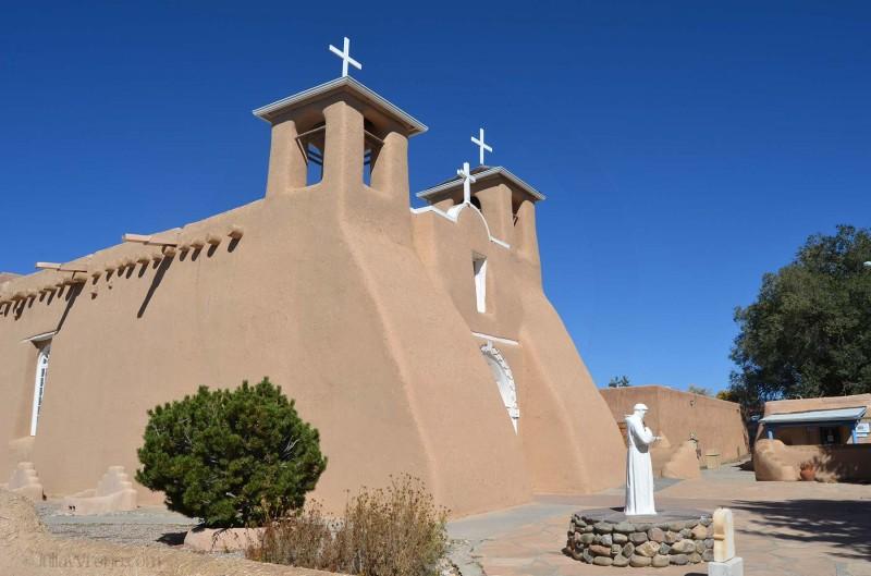 San Francisco De Asis Church in Rancho de Taos, New Mexico