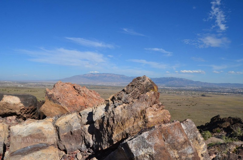 View from the top of Black Volcano in Petroglyph National Monument