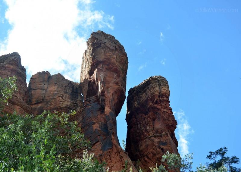 Red sandstone in Sedona, Arizona