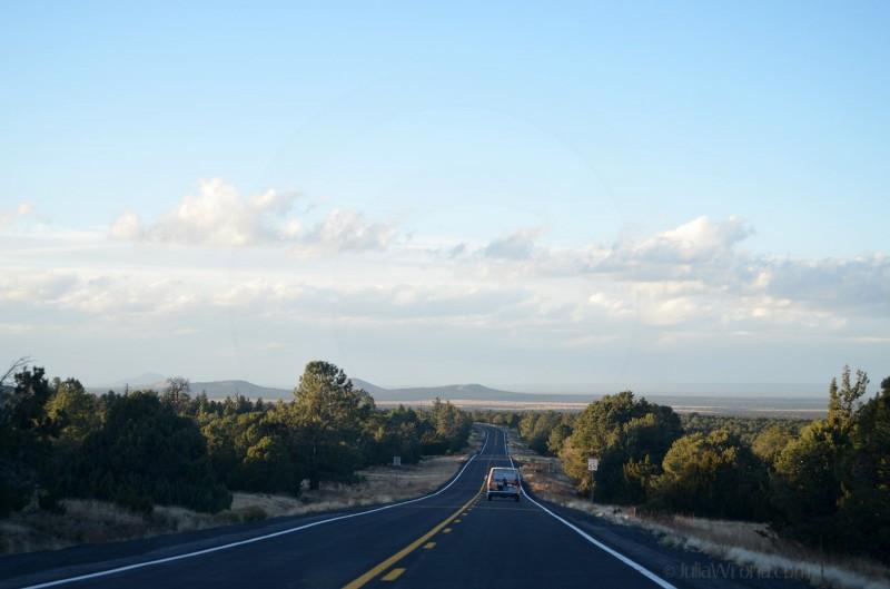 Road north of Flagstaff