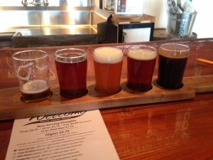 A selection of Cortland's high gravity brews.