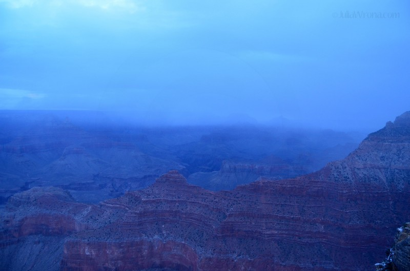 Sunrise over Grand Canyon