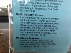 CCC & Pantious Droppus - menu