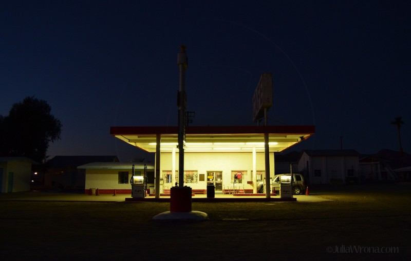 Gas Station dusk