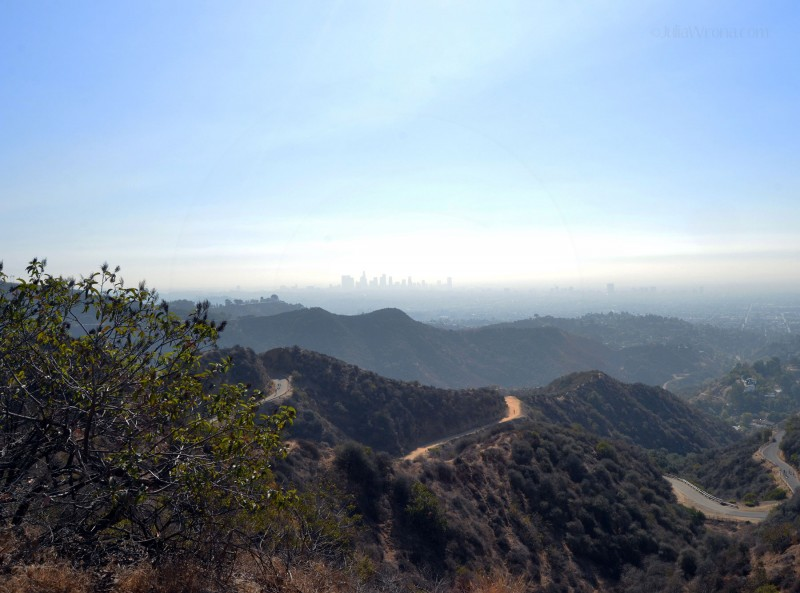 LA from ridge
