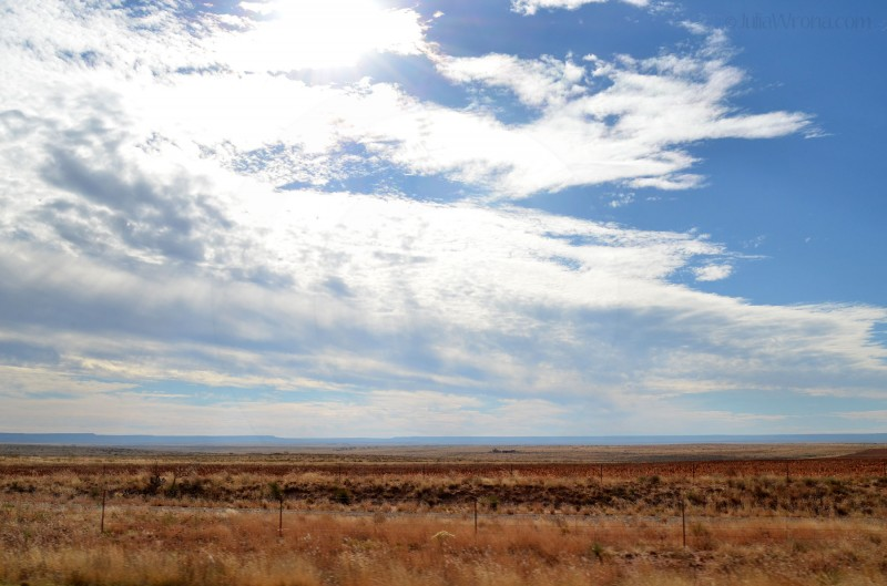Entering the Panhandle of Texas