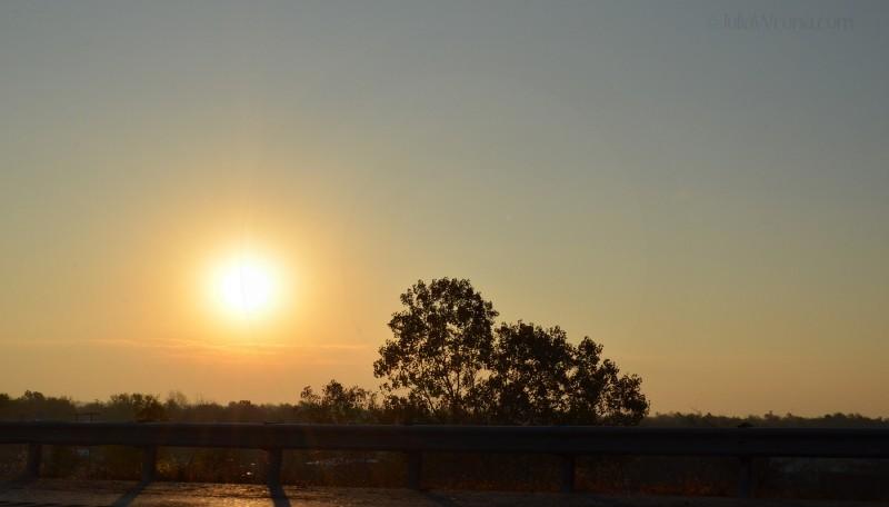Sunrise in Oklahoma