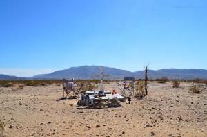 Desert memorial