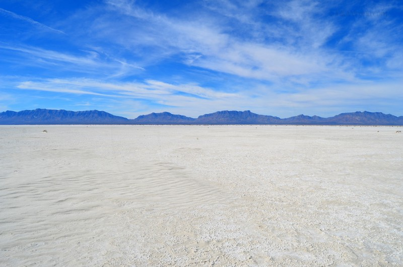 Alkali Flats at White Sands National Park
