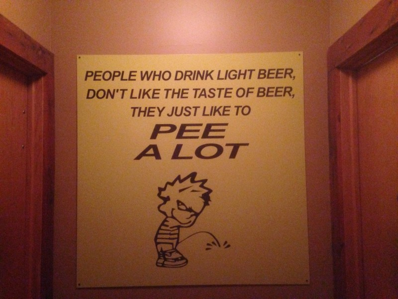 ...truth found in a Wichita brewery...