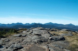 View from the top of Cascade Mountain in the Adirondacks