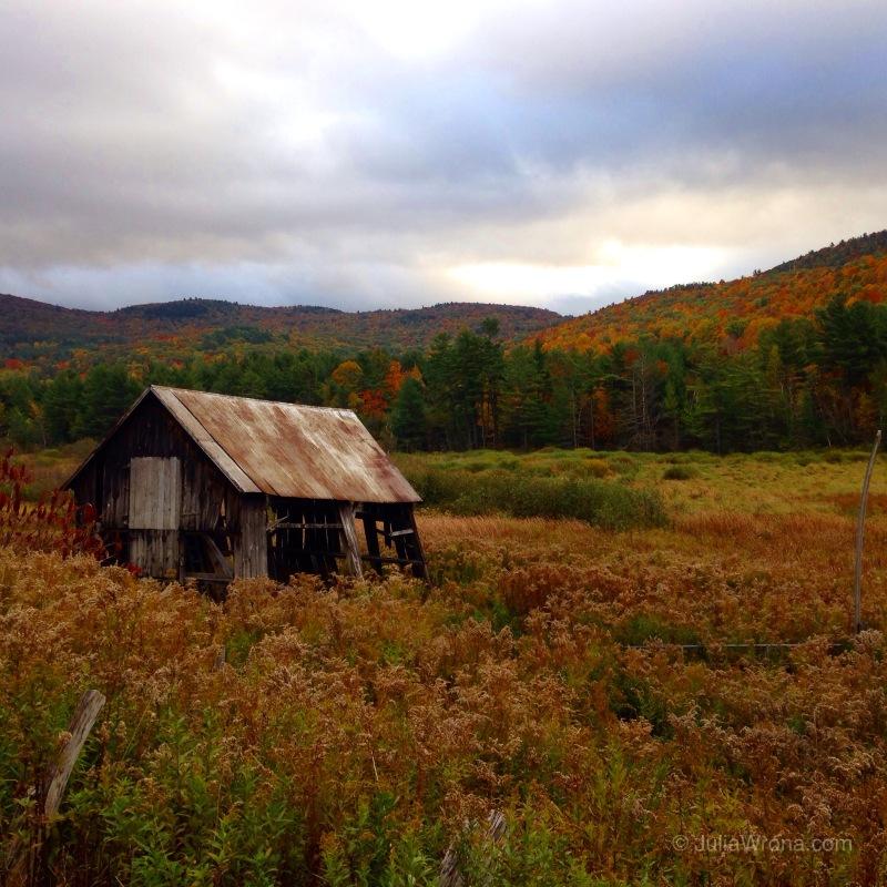 New York farm in Autumn