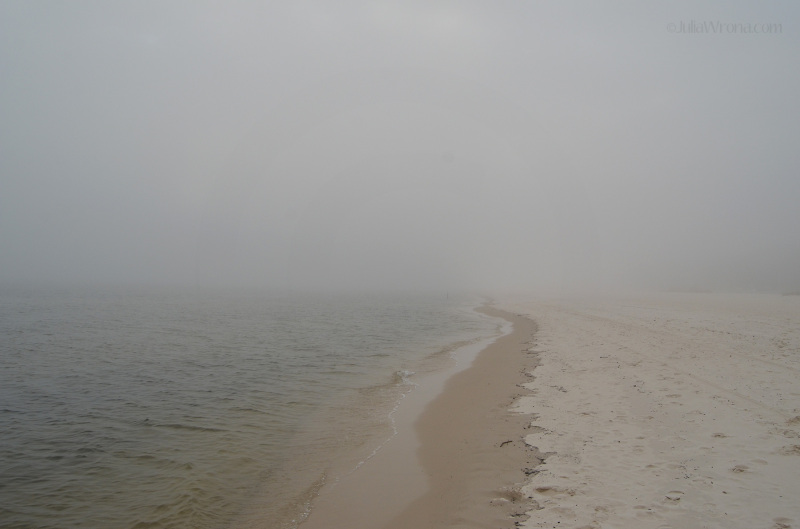 Fog on the nude beach