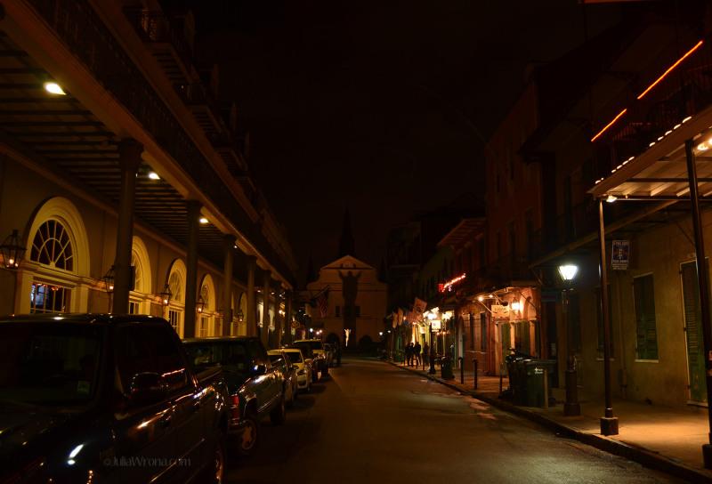 Place de Henriette Delille from Bourbon Street