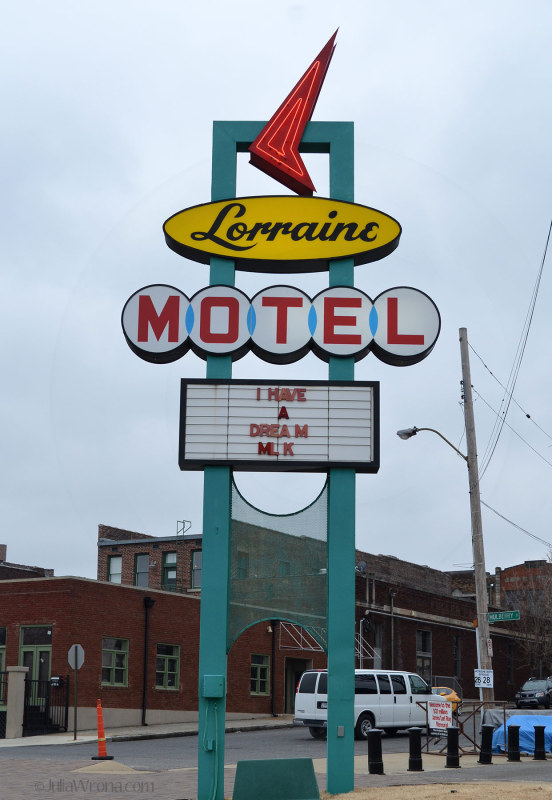 Lorraine Motel in Memphis, Tennessee