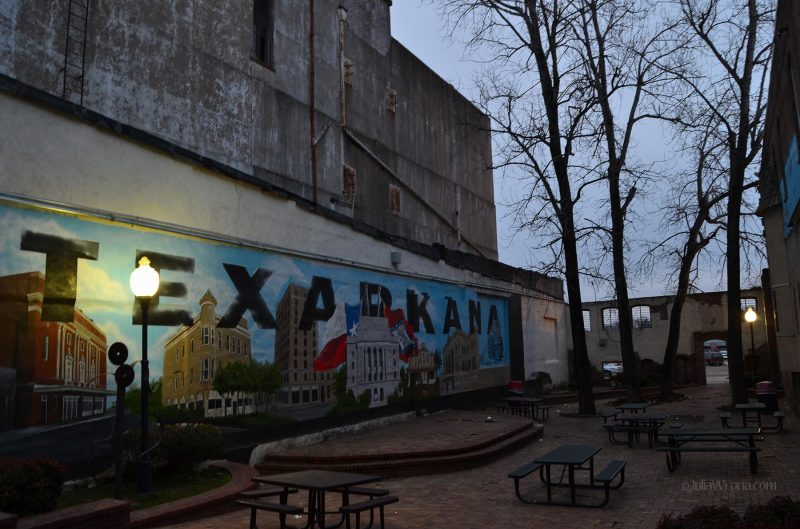 Mural Texarkana Arkansas Texas