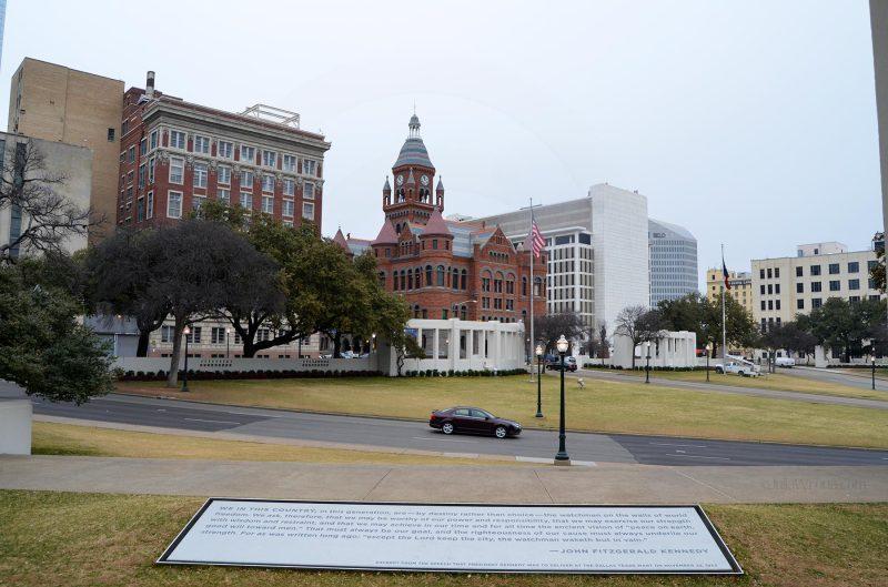 Site of John F. Kennedy's assassination