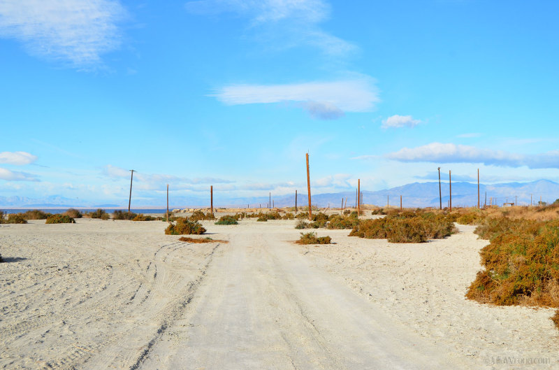 Entrance to Bombay Beach