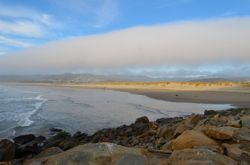 Beach at Morro Bay, California