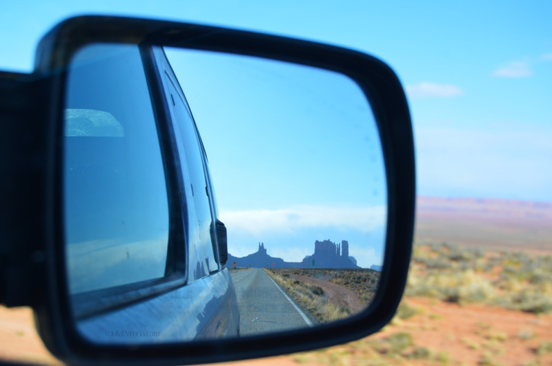 Highway 163 Monument Valley View