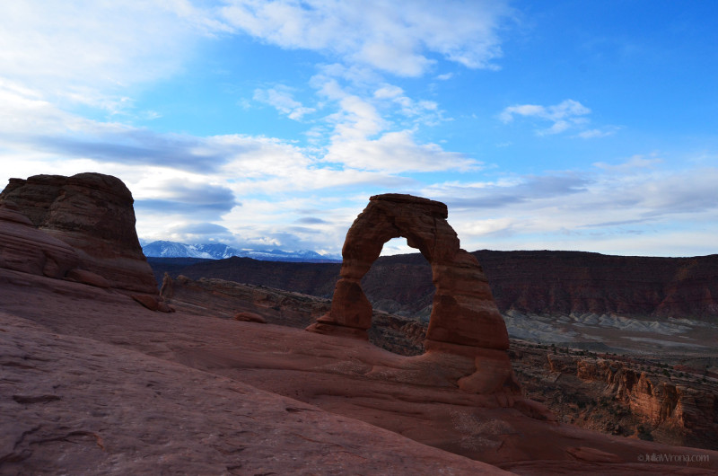 Delicate Arch early morning
