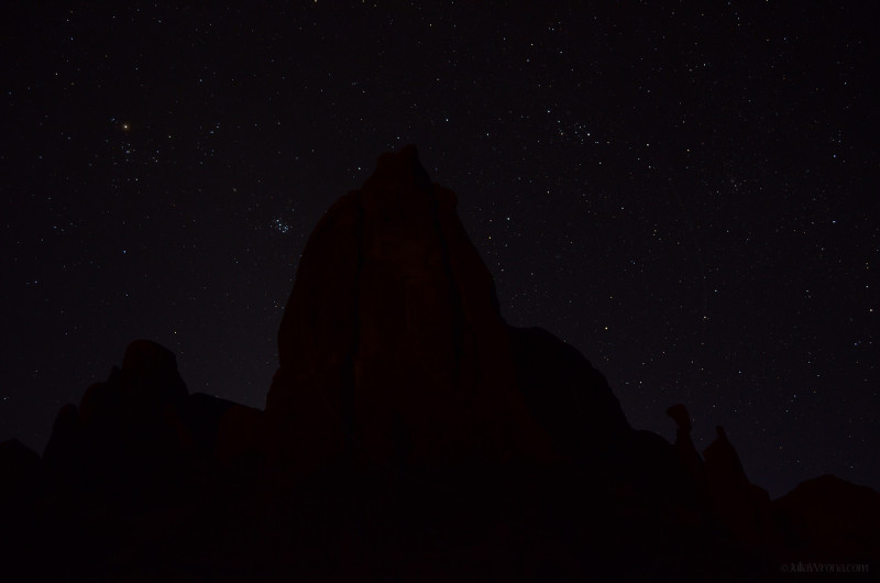 Night sky in Arches National Park, Utah
