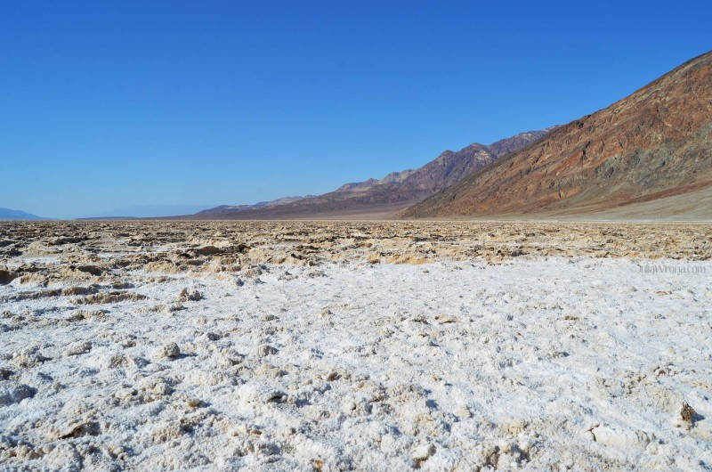 Salt in Badwater Basin, Death Valley