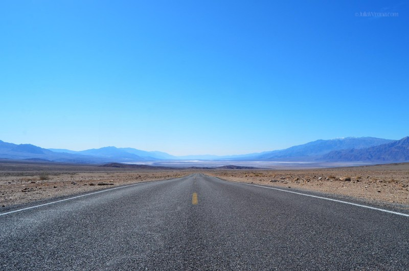 Leaving Death Valley National Park