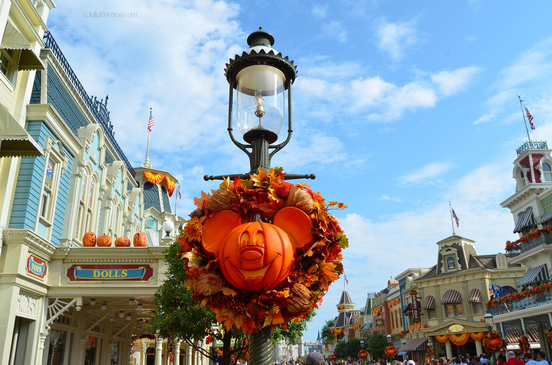 Halloween in Disney World