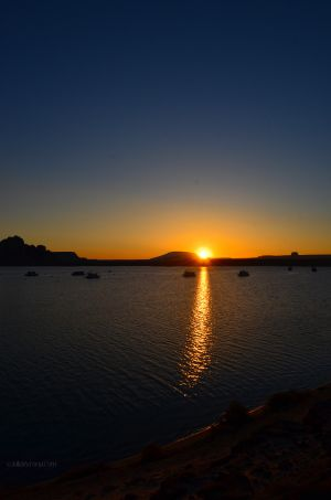 JKW_1283web Sunrise Breaking over Lake Powell.jpg