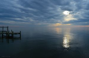 Early Sunset on the Chesapeake