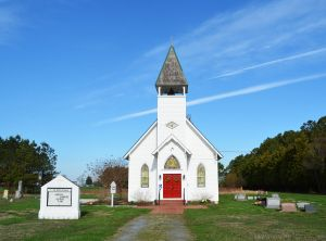 St. John's Chapel on Tilghman Island