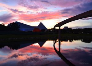 JKW_9968eweb Reflected Sunset in Epcot.jpg